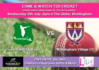 T20Charity Cricket Match